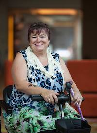 Allyson Lock. Photo courtesy of Allyson Lock and the New Zealand Organisation for Rare Disorders, photographed by Levi Gershkowitz of Living In The Light Of Rare Diseases.